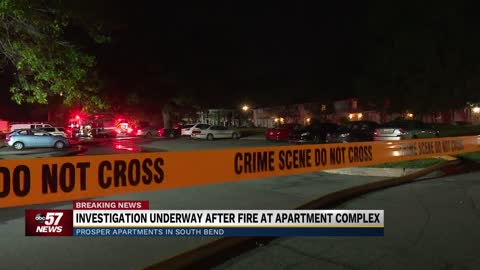 Crews respond to fire at PROSPER apartments in South Bend